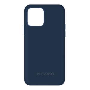 כיסוי מגן סיליקון Softek כחול כהה לאייפון 12 מיני PureGear