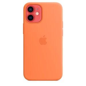 כיסוי מקורי לאייפון 12 תפוז סיני תומך MagSafe