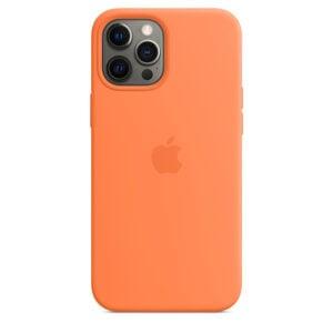 מגן כיסוי מקורי לאייפון 12 פרו תפוז סיני תומך MagSafe