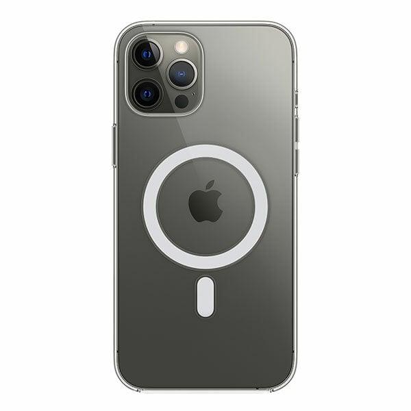 מגן כיסוי מקורי לאייפון 12 פרו מקס שקוף תומך MagSafe