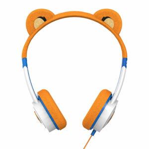 אוזניות קשת לילדים עם סאונד איכותי נמר iFrogz Little Rockerz