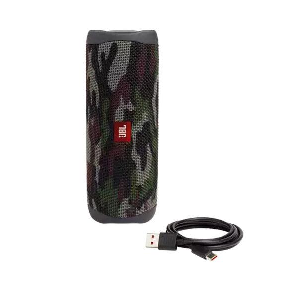 רמקול JBL FLIP 5 צבאי חזק ועוצמתי במיוחד עמיד במים וחיי סוללה ארוכים