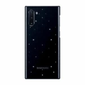 כיסוי התראות חכם לגלקסי נוט 10 מקורי שחור Samsung LED Back Cover