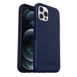 מגן כיסוי OtterBox Symmetry כחול לאייפון 12 פרו תומך MagSafe
