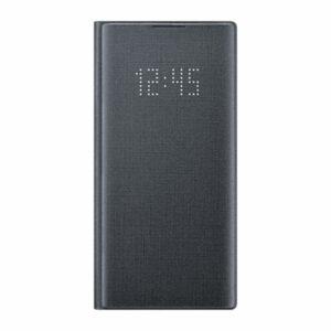 כיסוי ספר התראות חכם לגלקסי נוט 10 מקורי שחור Samsung LED View