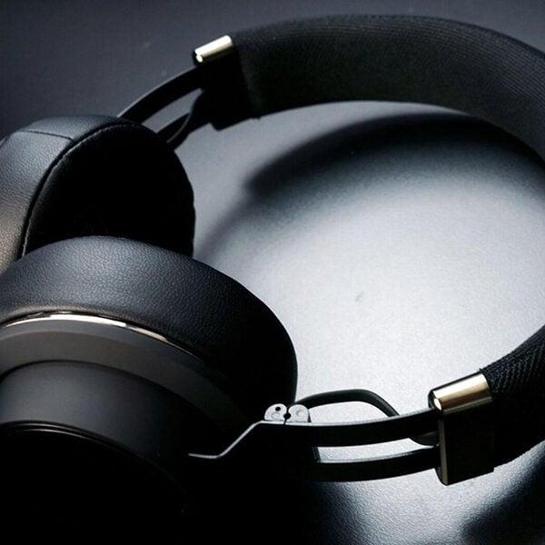 אוזניות Soul Impact OE Wireless קשת אלחוטיות עם סאונד עוצמתי שחור