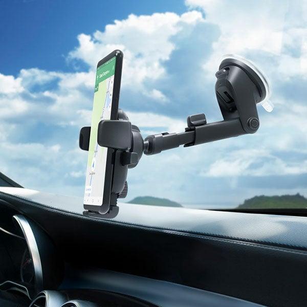 מעמד אוניברסלי לרכב לדשבורד ולשמשה עם ראש מסתובב iOttie Easy One Touch 4