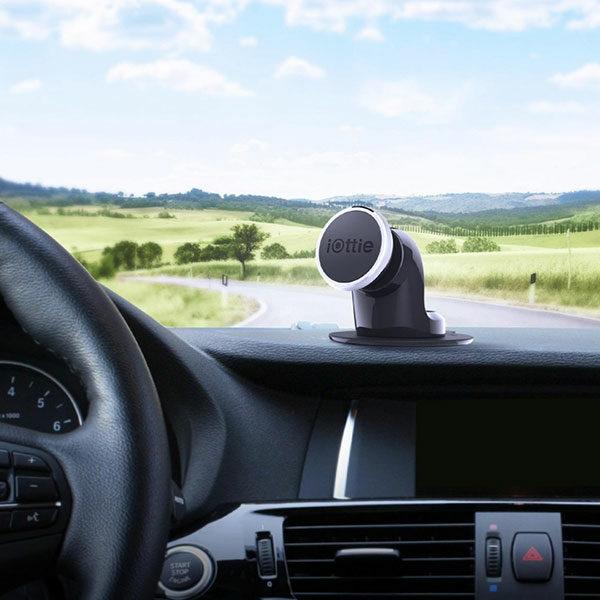 מעמד מגנטי אוניברסלי לרכב עם הדבקת ג'ל ייחודית iOttie iTap Magnetic