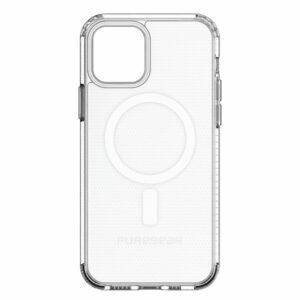 כיסוי שקוף לאייפון 12 פרו מקס MagSafe קשיח PureGear Slim Shell Pro