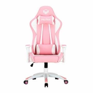 כיסא גיימינג ורוד מתכוונן MeeTion Gaming Chair CHR16