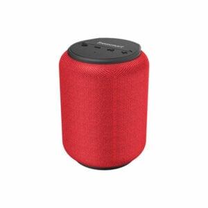 רמקול אלחוטי Tronsmart T6 Mini אדום קומפקטי וחזק עם חיי סוללה ארוכים