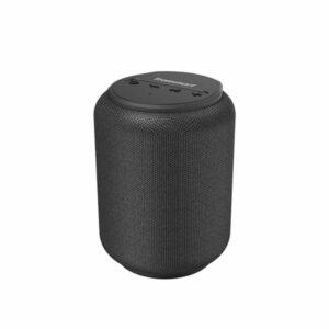 רמקול נייד Tronsmart T6 Mini שחור קומפקטי וחזק עם חיי סוללה ארוכים