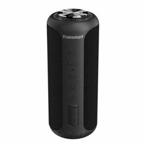 רמקול נייד Tronsmart T6 Plus Upgraded שחור עם סאונד חזק ועוצמתי