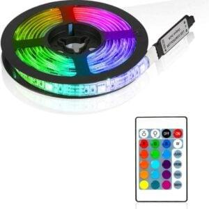 סרט לד צבעוני 2 מטר משנה צבעים RGB