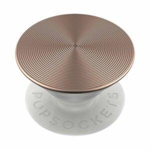 פופסוקט מחזיק לסמארטפון אלומיניום זהב ורוד PopSocket Twist Rose Gold Aluminum