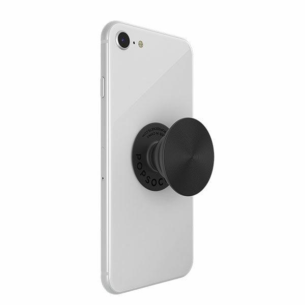 פופסוקט תופסן לסמארטפון אלומיניום שחור PopSocket Twist Black Aluminum