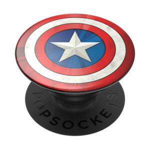 פופסוקט תופסן לסמארטפון קפטן אמריקה PopSocket Captain America Logo