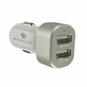 ראש מטען לרכב מהיר עם 2 יציאות 3.4 אמפר Miracase Car Charger