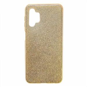 כיסוי לגלקסי A32 נצנצים זהב סיליקון חלק ואלגנטי
