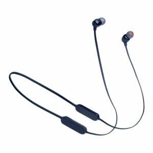 אוזניות אלחוטיות JBL Tune 125BT כחול עם סאונד טהור ונקי