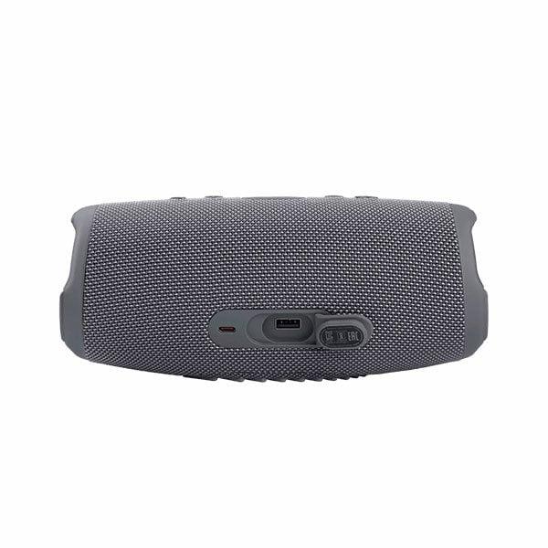 רמקול JBL Charge 5 אפור עם שמע עוצמתי במיוחד