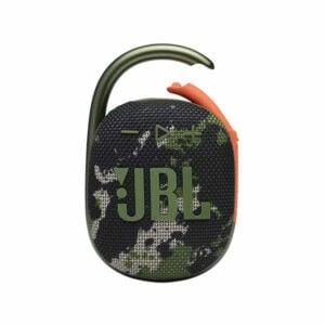 רמקול JBL Clip 4 צבאי עם תופסן משודרג וסאונד חזק