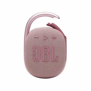 רמקול JBL Clip 4 ורוד עם תופסן משודרג וסאונד חזק