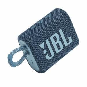 רמקול JBL GO 3 כחול עם מבנה קומפקטי וסאונד עוצמתי יבואן רשמי