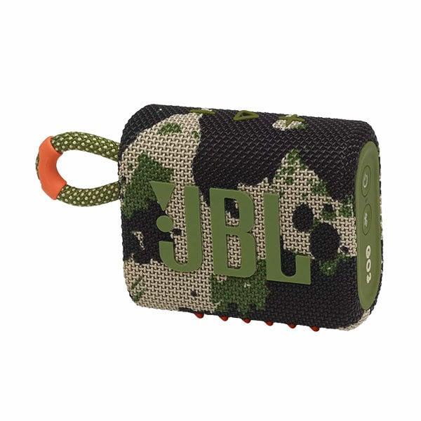 רמקול JBL GO 3 צבאי עם מבנה קומפקטי וסאונד עוצמתי יבואן רשמי