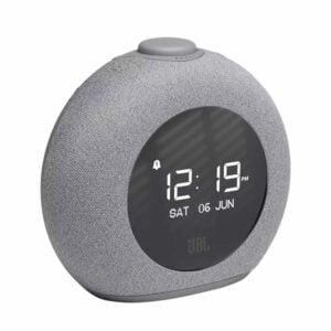 רמקול רדיו שעון JBL Horizon 2 אפור עם צג דיגיטלי ותאורת חדר