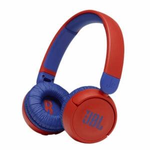 אוזניות קשת אלחוטיות לילדים JBL JR310BT אדום עם מיקרופון מובנה