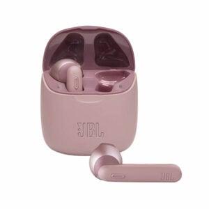 אוזניות אלחוטיות JBL Tune 225 TWS ורוד עם חיי סוללה ארוכים
