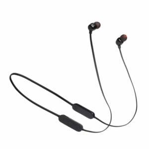 אוזניות אלחוטיות JBL Tune 125BT שחור עם סאונד טהור ונקי