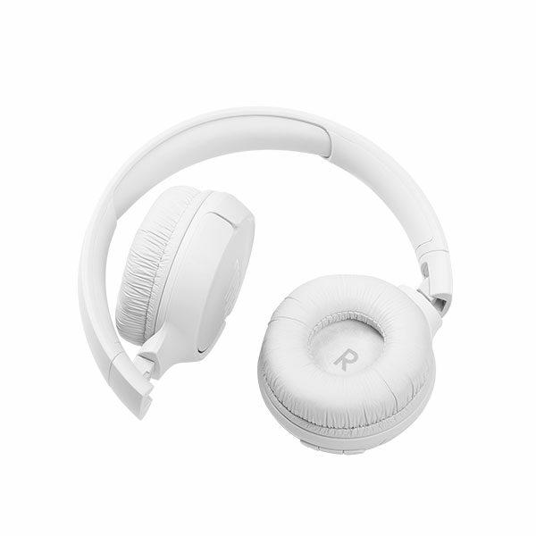 אוזניות קשת אלחוטיות JBL Tune 510BT עם מיקרופון מובנה לבן