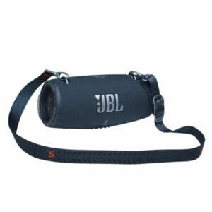 רמקול JBL XTREME 3 כחול עם רצועת נשיאה וסאונד מאסיבי