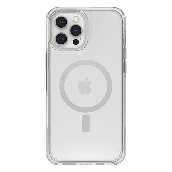 כיסוי Otterbox לאייפון 12 פרו מקס שקוף תומך MagSafe
