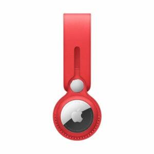 כיסוי ל AirTag מקורי אדום עור AirTag Loop Product RED
