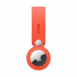 כיסוי מקורי ל AirTag לולאה כתום אלקטרוני סיליקון AirTag Loop