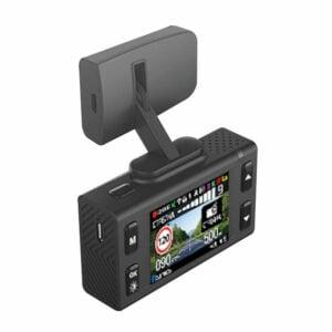 מצלמת דרך לרכב DABOOR עם התראות על מכמונות מהירות וראיית לילה