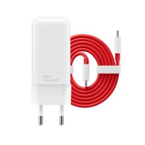 מטען מהיר וואן פלוס 65 וואט עם כבל טייפ סי OnePlus Warp Charge 65