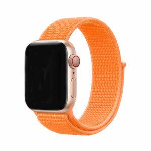 רצועת בד ל-Apple Watch 38/40mm כתום Target Strap