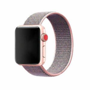 רצועת בד ל-Apple Watch 38/40mm ורוד סגול Target Strap
