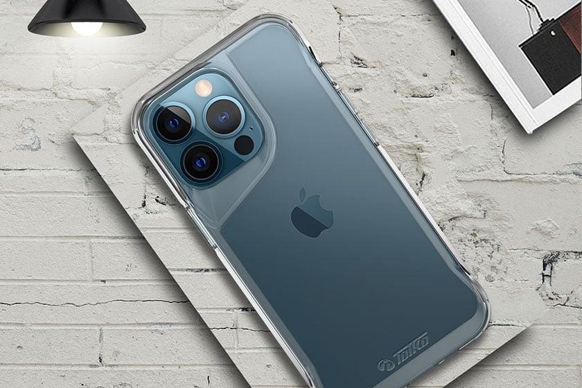 כיסוי לאייפון 13 פרו שקוף קשיח וחזק Toiko Titan