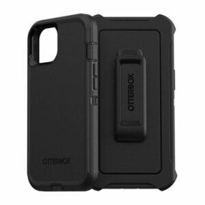 כיסוי לאייפון 13 Otterbox Defender שחור עם קליפס חזק ועמיד במיוחד