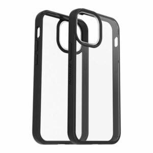כיסוי לאייפון 13 מיני שקוף שחור Otterbox React דק ועמיד במיוחד