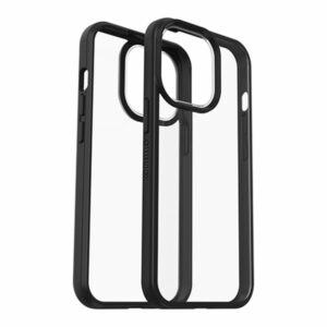 כיסוי לאייפון 13 פרו שקוף שחור Otterbox React דק ועמיד במיוחד