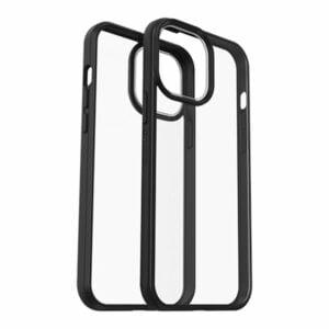 כיסוי לאייפון 13 פרו מקס שקוף שחור Otterbox React דק ועמיד במיוחד