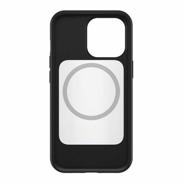 כיסוי שחור לאייפון 13 פרו Otterbox Symmetry תומך MagSafe חזק ועמיד