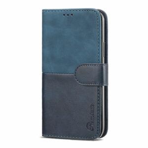 כיסוי לגלקסי S21 אולטרה ארנק כחול עם מקום לכרטיסי אשראי Duo Premium