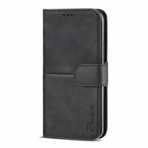 כיסוי לאייפון 12 ארנק שחור עם מקום לכרטיסי אשראי Duo Premium